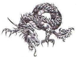 Значение татуировки дракона в странах